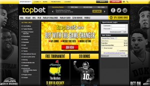Topbet is a sportsbook open to the United States
